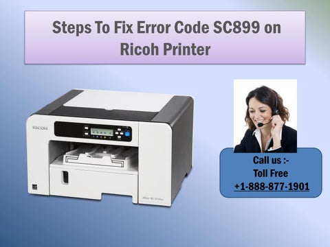 Steps to Fix Error Code SC899 on Ricoh Printer by katew8161