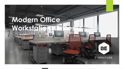 Modern Office Workstations Desks In New Jersey By Be