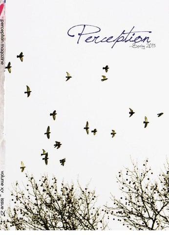 Perception Magazine Spring 2015