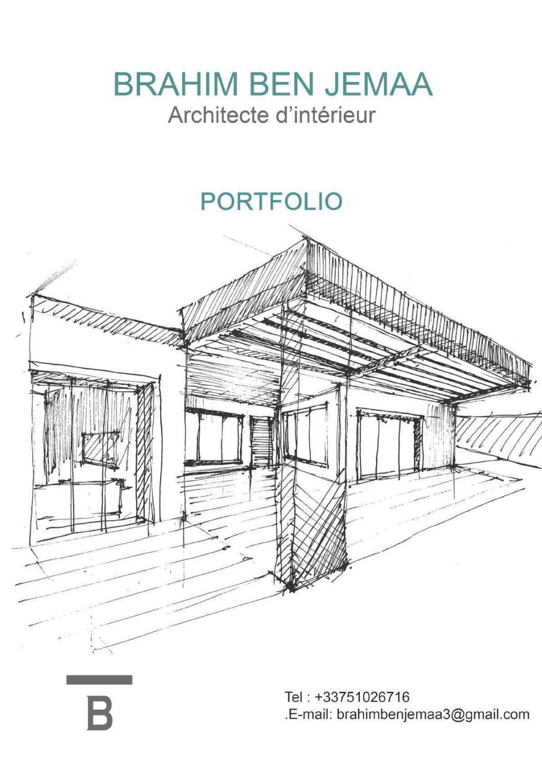 L Architecture D Intérieur book architecture d'intérieur brahim ben jemaabrahim ben
