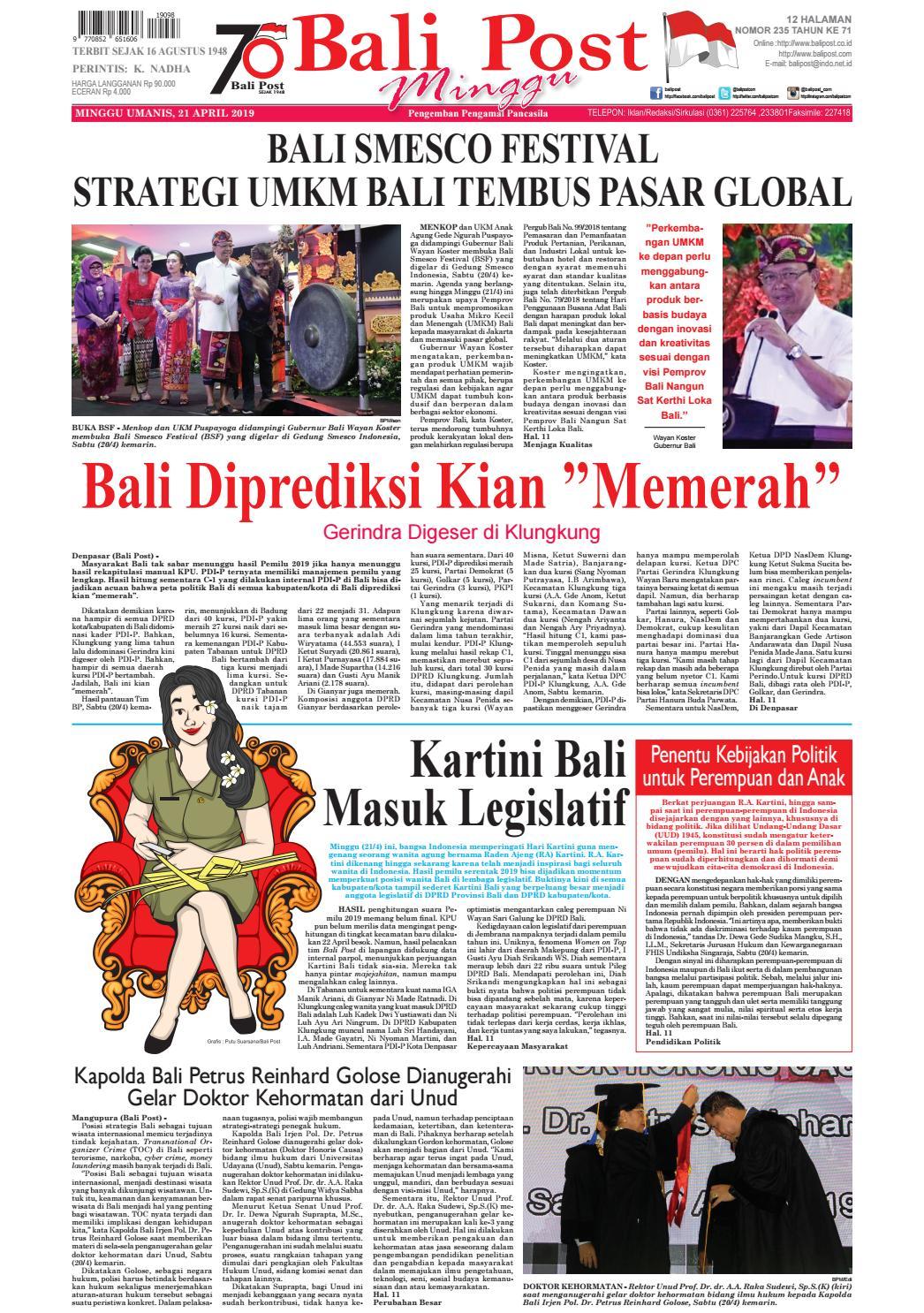 Berita Bahasa Bali Tentang Bencana Alam Singkat - Gue Viral