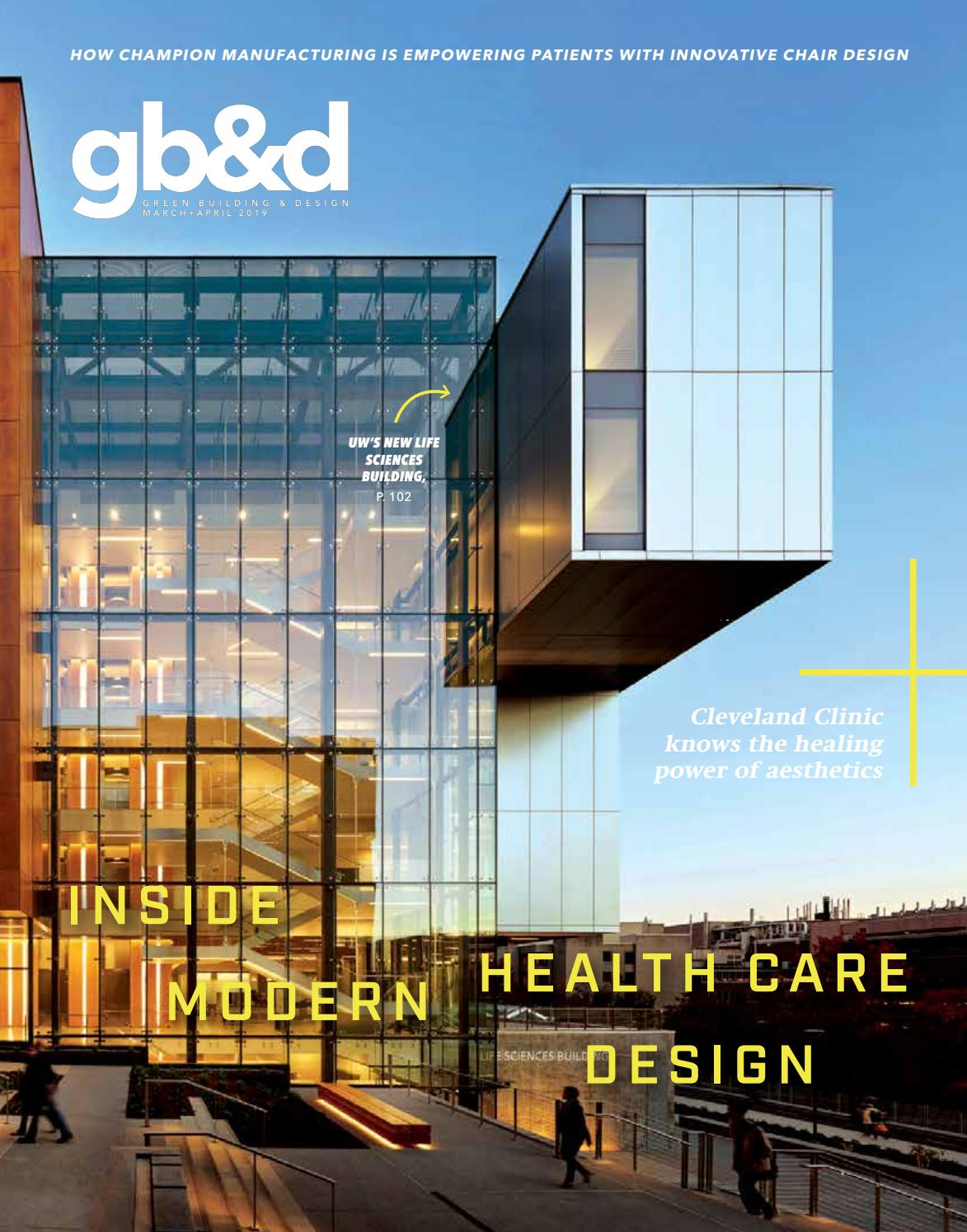 gb&d Issue 55: March/April 2019 by Green Building & Design