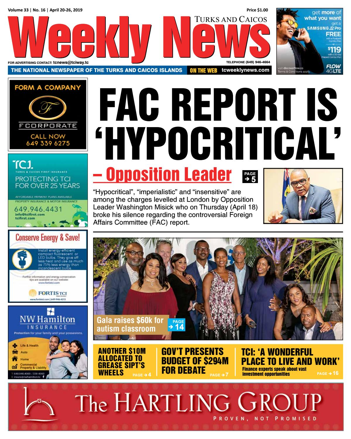 TCWN April 20 - 26, 2019 by TC Weekly News - issuu