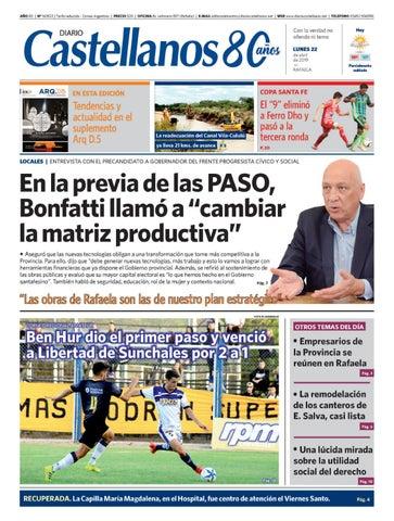 Diario Castellanos 22 04 19 by Diario Castellanos issuu
