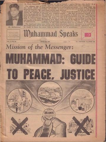 Muhammad Speaks Newspaper April 30, 1965 by Muhammad Speaks