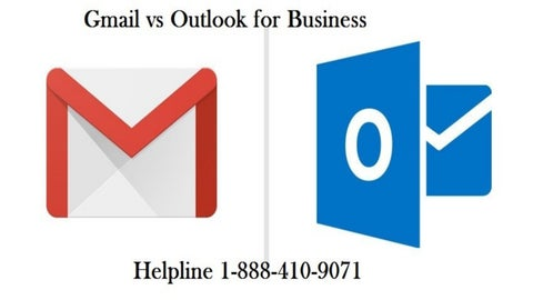 Gmail Vs Outlook for business| Helpline number 1-888-410