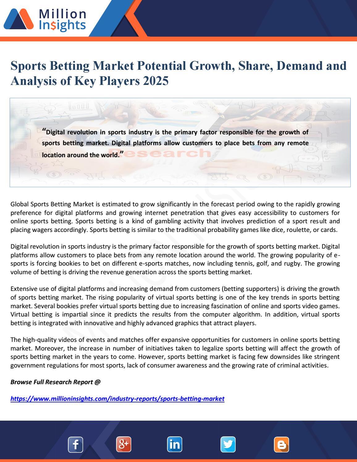 online sports betting regulation e