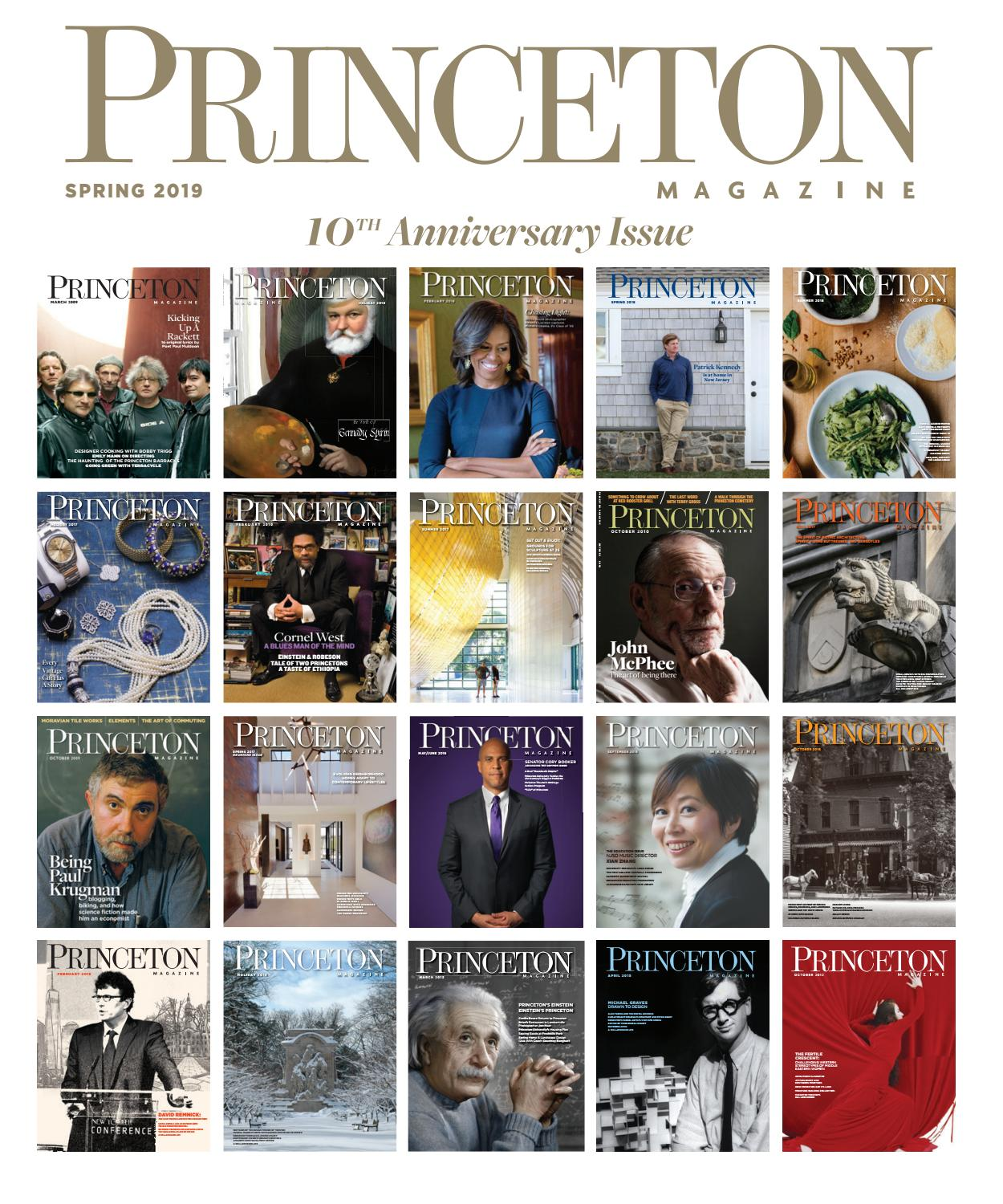 f53c11490ec4 Princeton Magazine Spring 2019 by Witherspoon Media Group - issuu