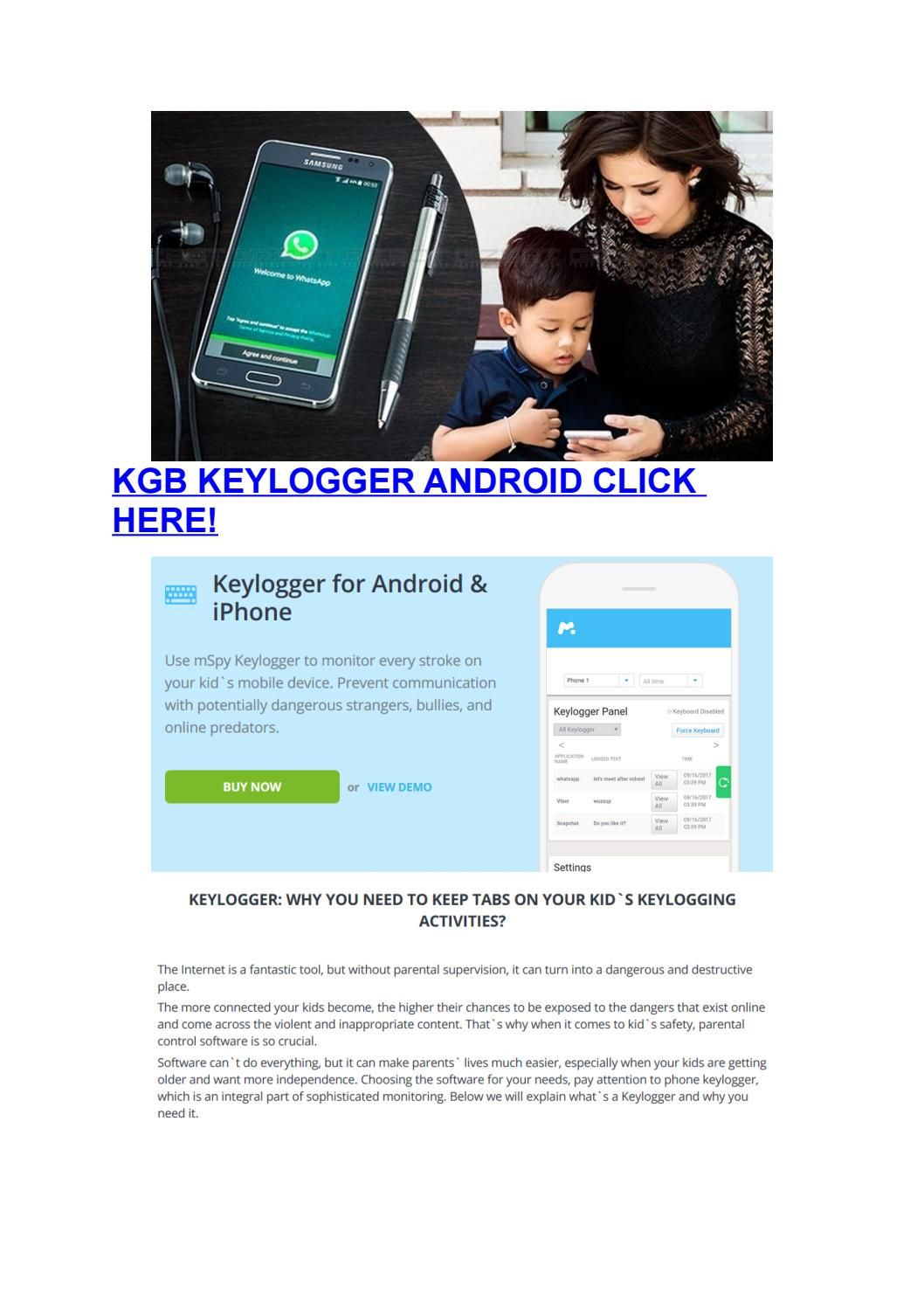 Kgb Keylogger Android by faabler - issuu