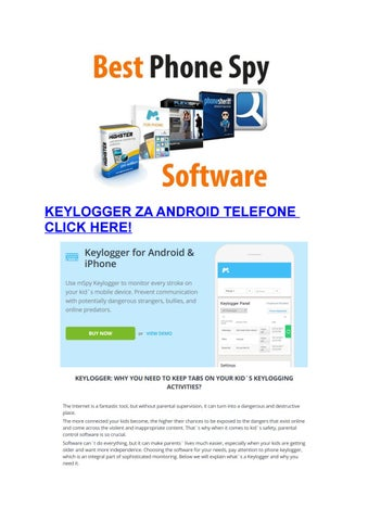 Keylogger Za Android Telefone by faabler - issuu