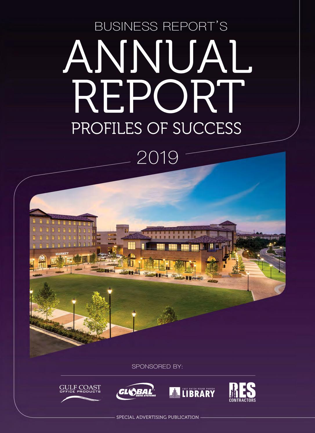 Baton Rouge Business Report's 2019 Annual Report by Baton