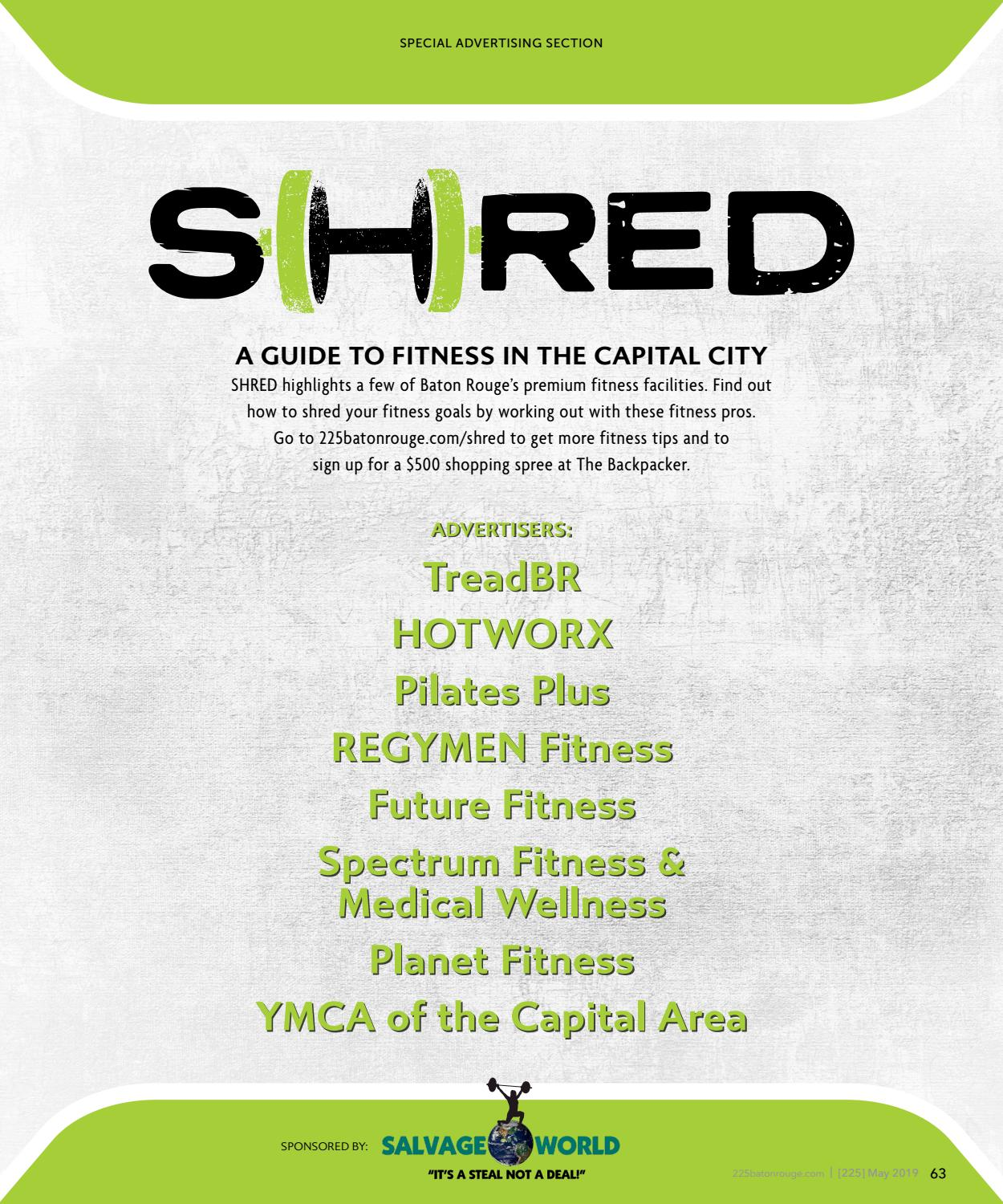 SHRED: A Guide to Fitness in the Capital City by Baton Rouge