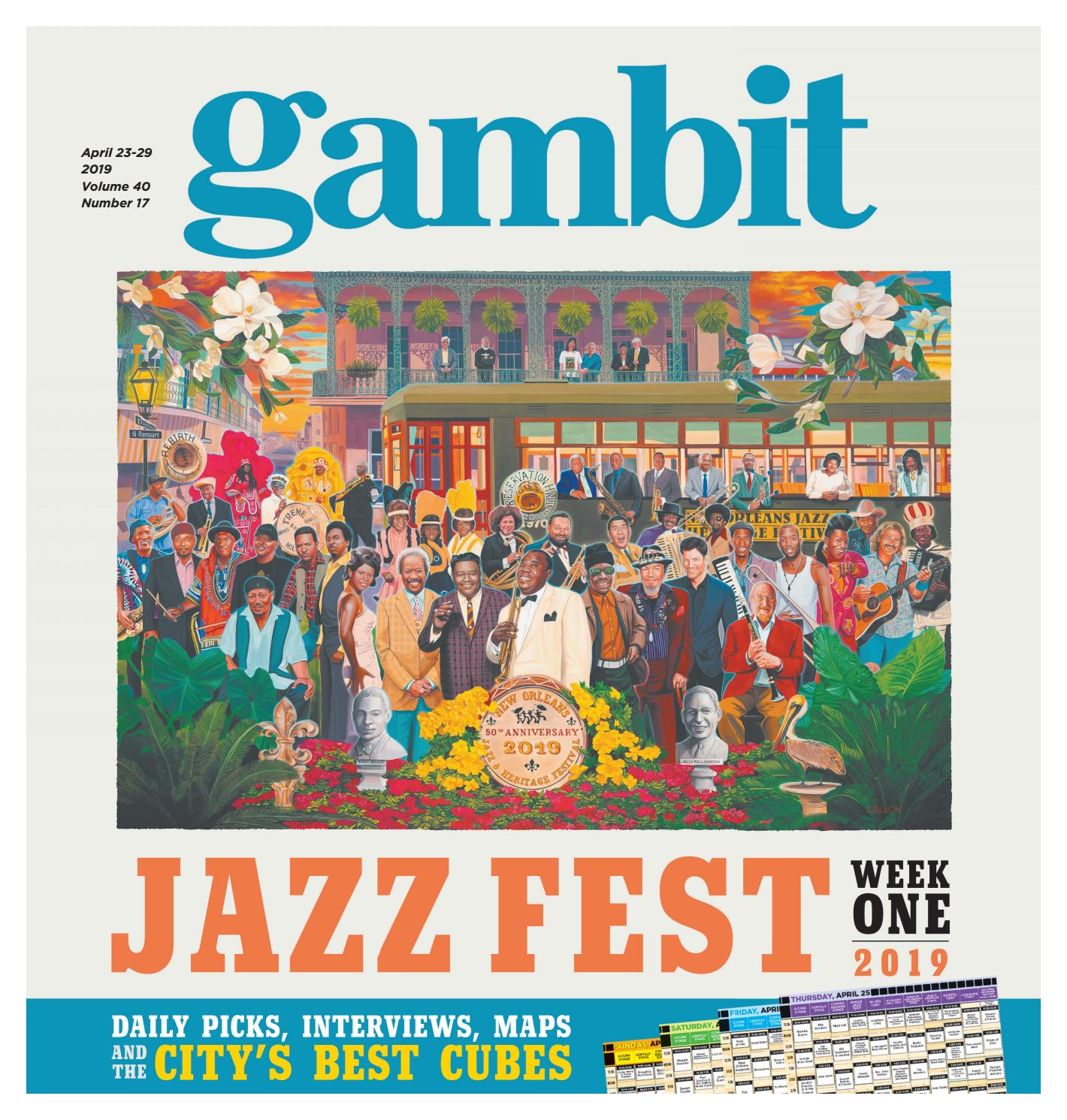 Gambit New Orleans, April 23, 2019 by Gambit New Orleans - issuu