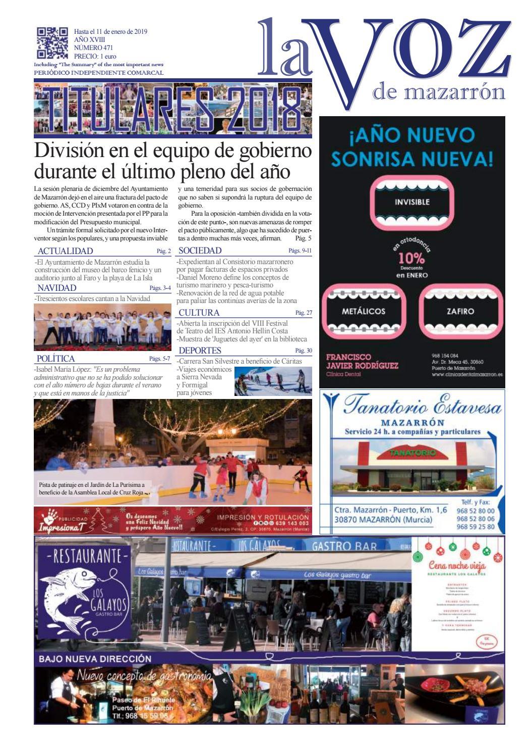 Calendario Escolar 2020 18 Aragon.La Voz 471 By La Voz De Mazarron Periodico Issuu