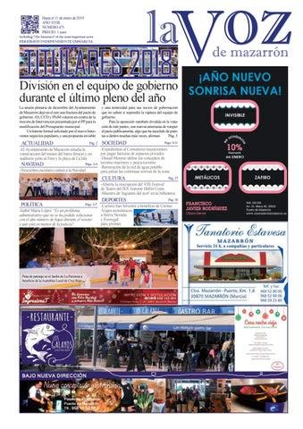 Calendario Escolar Valencia 2020 18.La Voz 471 By La Voz De Mazarron Periodico Issuu