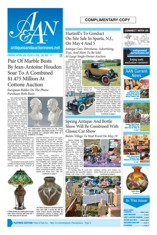 Antiques & Auction News 042619 by Antiques & Auction News