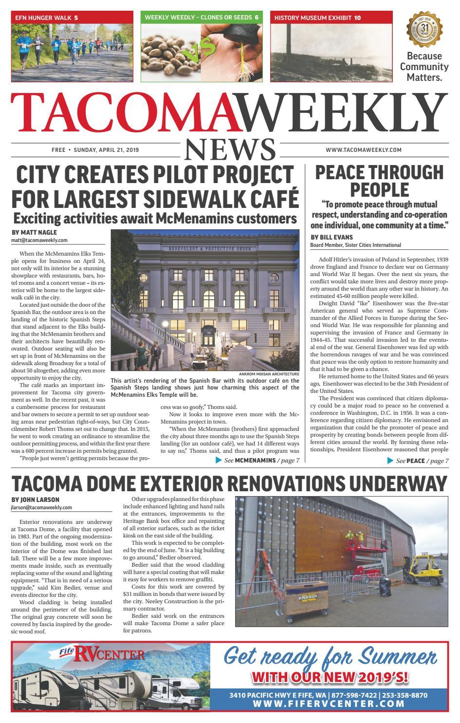 Tacoma Weekly 04 21 19 by Tacoma Weekly News - issuu