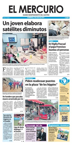 ec6edb0c1956 El Mercurio-21-04-2019 by Diario El Mercurio Cuenca - issuu