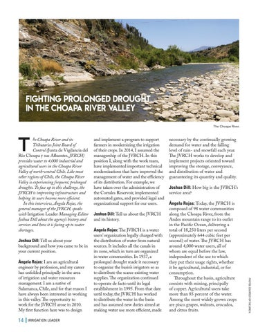 Page 14 of Fighting Prolonged Drought in the Choapa River Valley