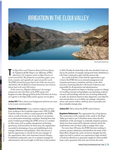 Page 19 of  Irrigation in the Elqui Valley