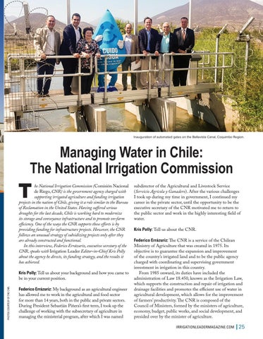 Page 25 of Managing Water in Chile: The National Irrigation Commission