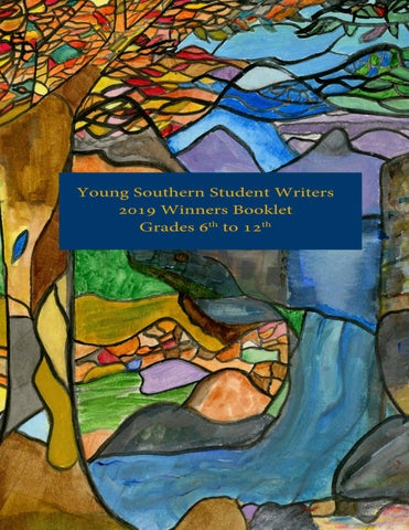 Young Southern Student Writers Winners 2019 Middle And High