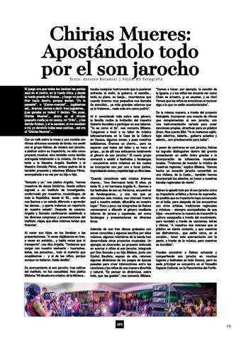 Page 19 of Betting All in on Son Jarocho