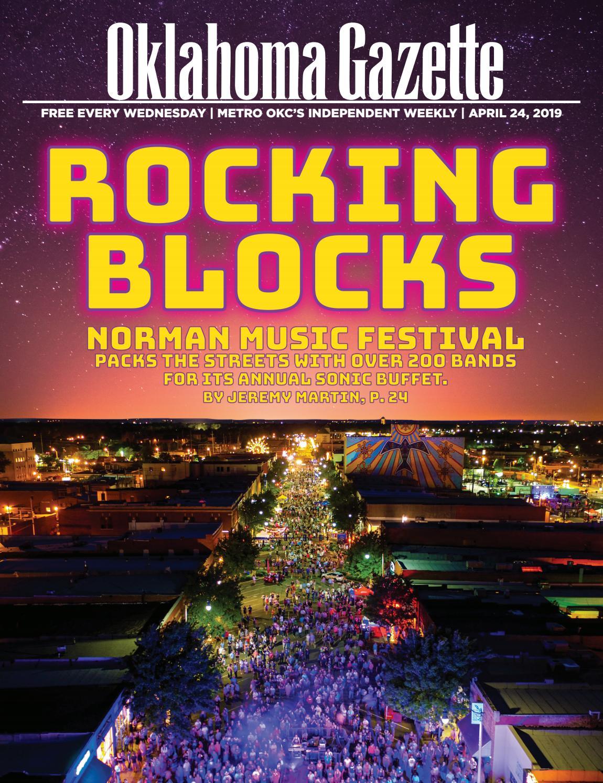 Rocking blocks by Oklahoma Gazette - issuu