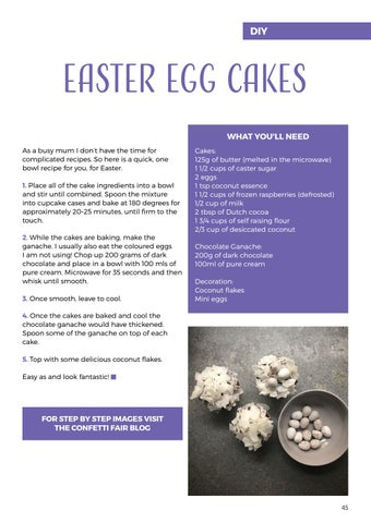 Page 45 of Easter Egg Cakes