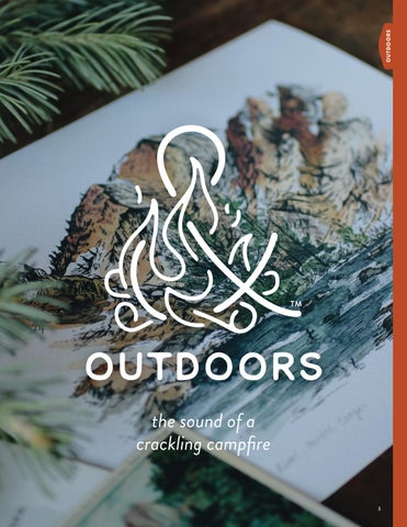 Page 5 of Outdoors: the sound of a  crackling campfire