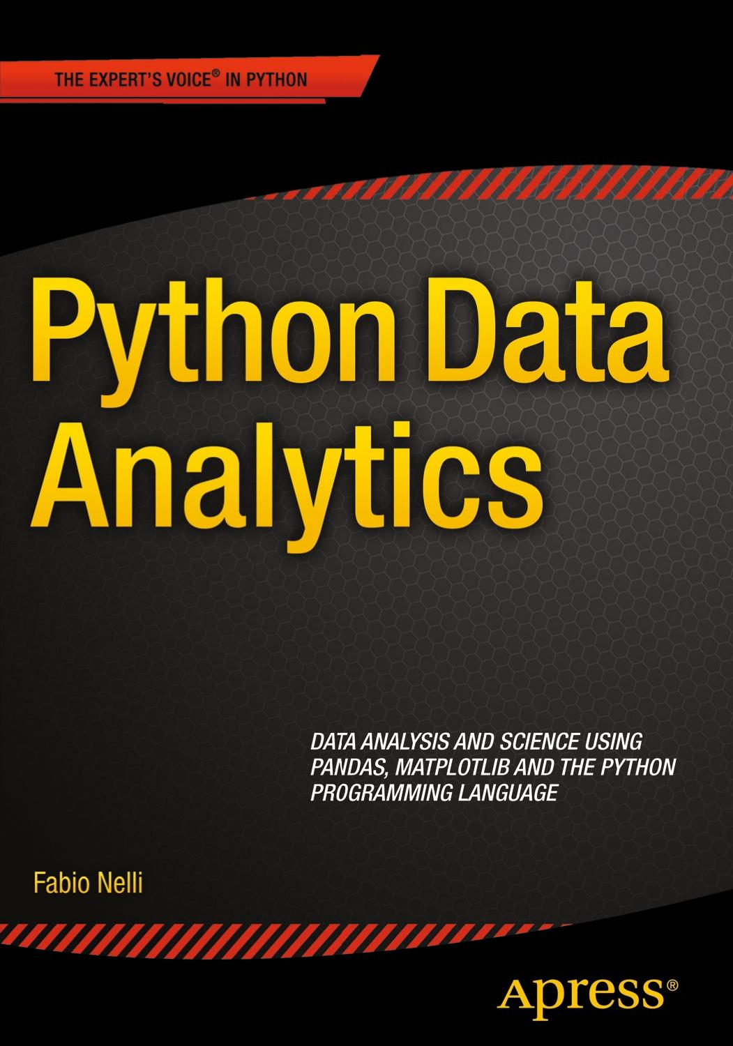Python Data Analytics_ Data Analysis and Science Using