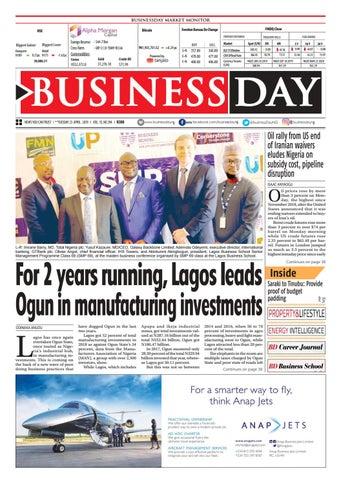 BusinessDay 23 Apr 2019 by BusinessDay - issuu
