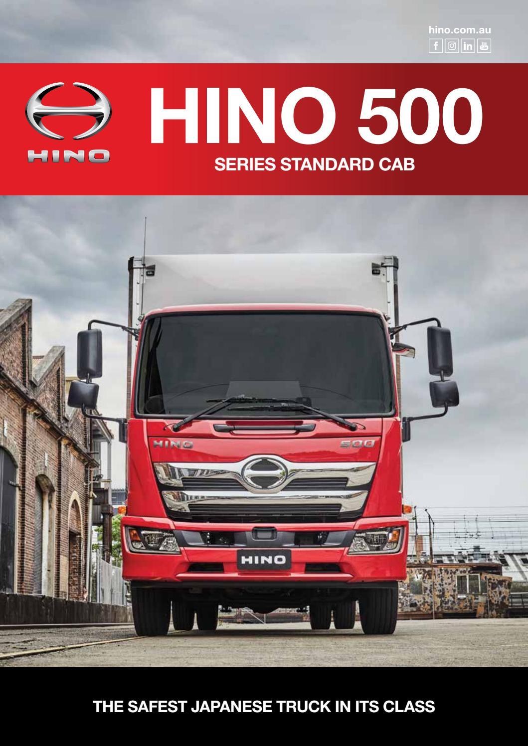 Hino 500 Series Standard Cab by Hino Australia - issuu