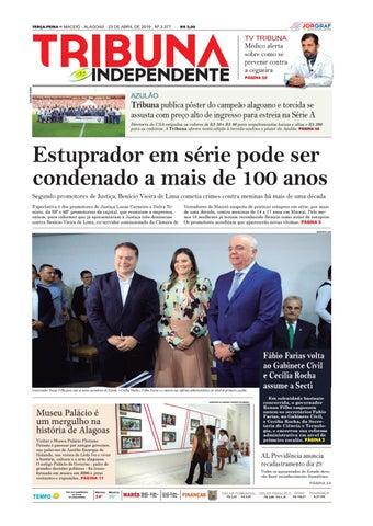 51c1fa83b Edição número 3377 - 23 de abril de 2019 by Tribuna Hoje - issuu