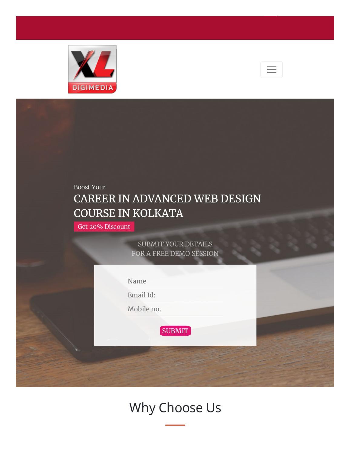 Advance Web Design Course In Kolkata By Saikatdutta737 Issuu