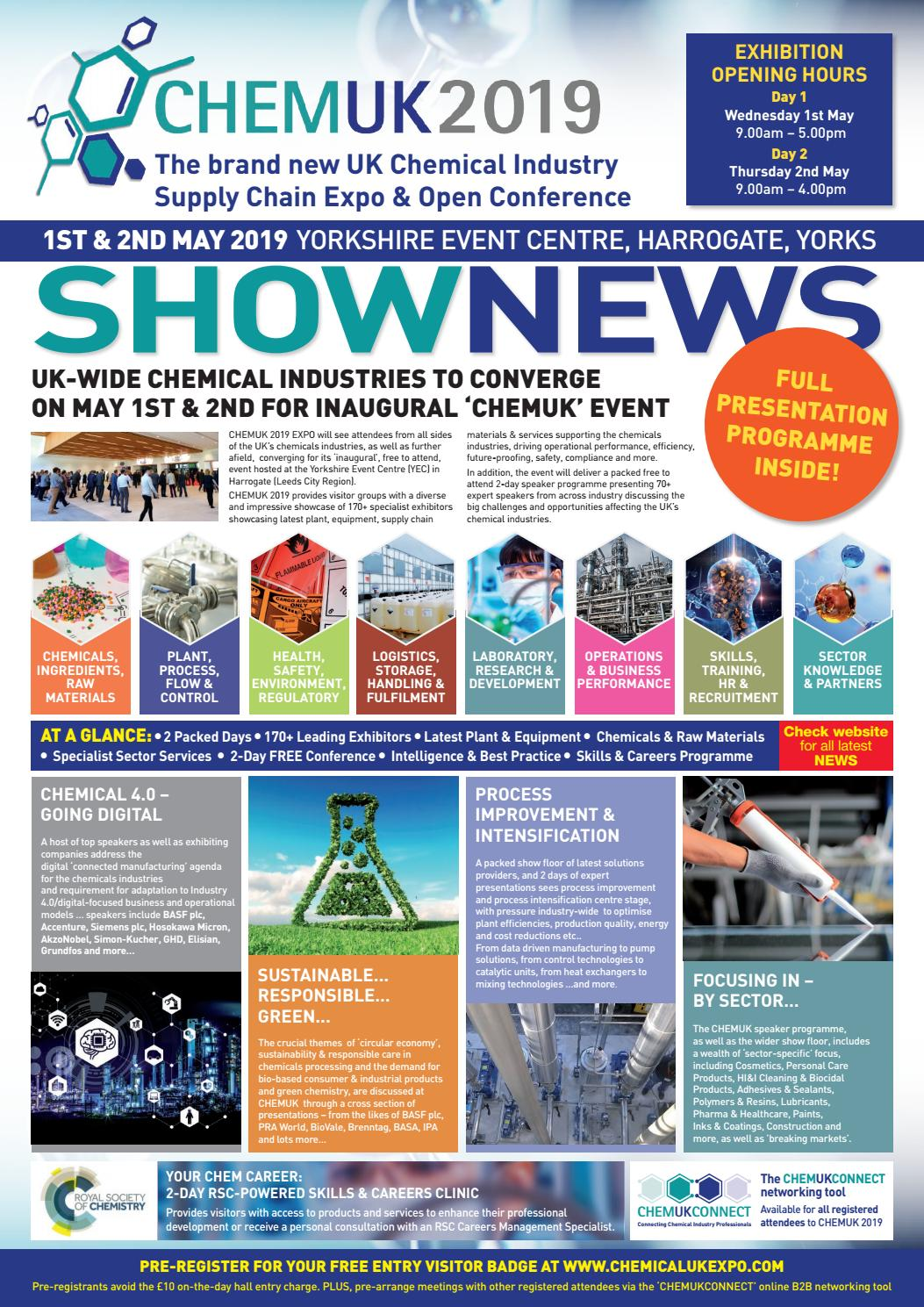The CHEMUK 2019 Exhibition Show News by The Magazine