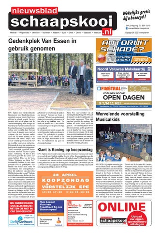 01f8f805ec4 Schaapskooi week 17 2019 by BrugMedia B.V. - issuu