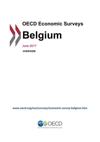 OECD Economic Survey: Belgium 2017 (overview) by OECD - issuu