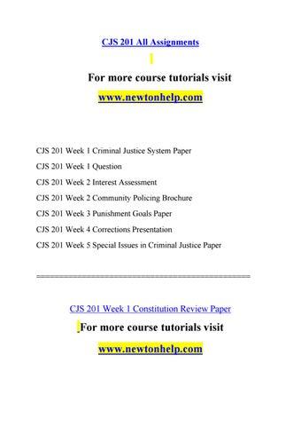 criminal justice essay conclusion