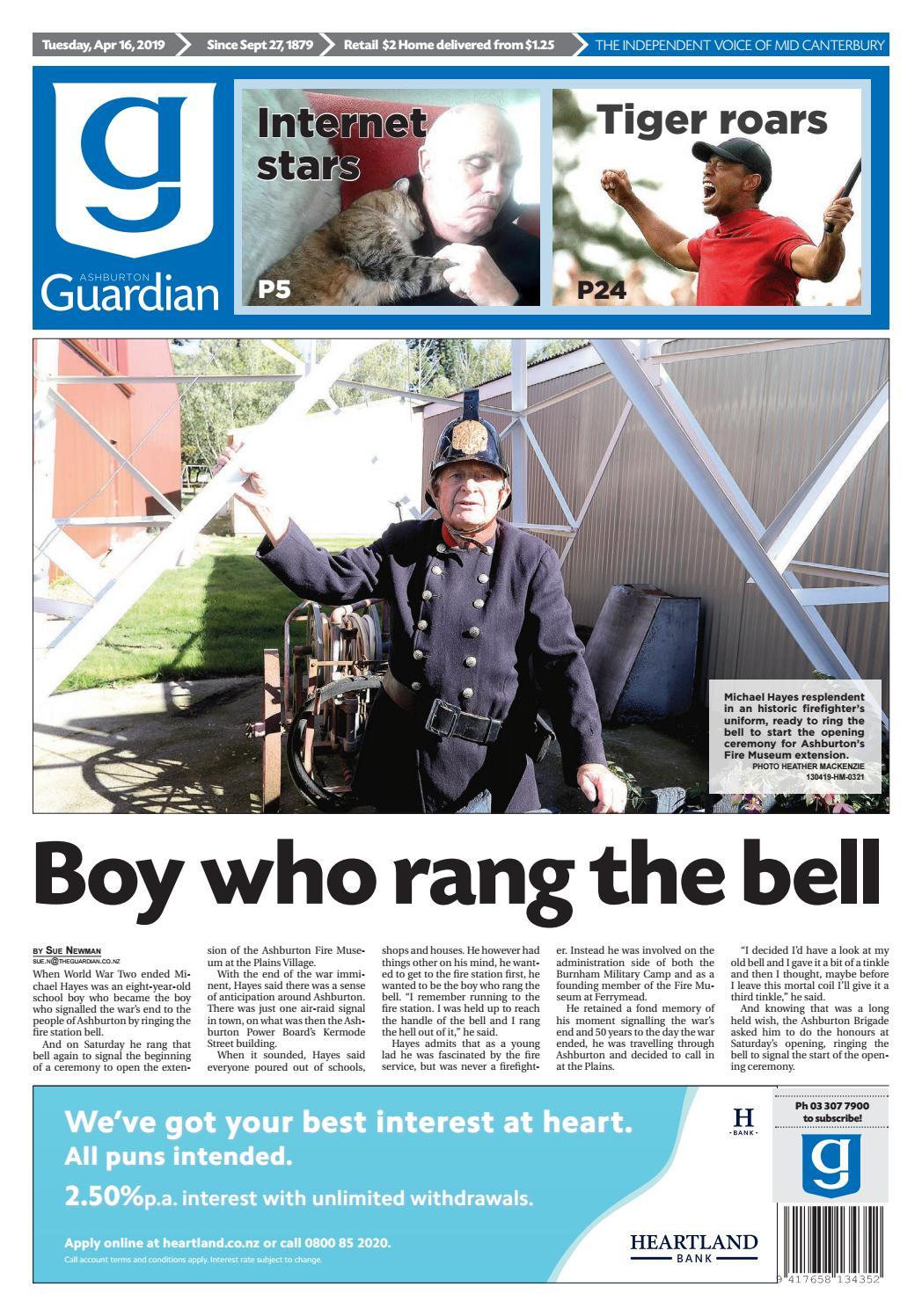 Ashburton Guardian, Tuesday, April 16, 2019 by Ashburton