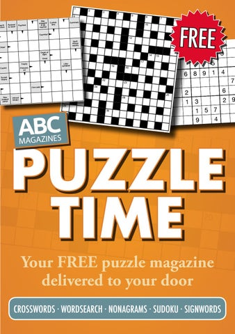 Abc Puzzle Time By Abc Magazines Issuu