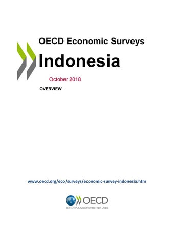 OECD Economic Survey: Indonesia 2018 (overview) by OECD - issuu
