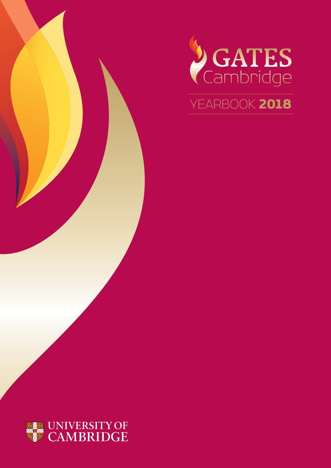 Gates Cambridge Yearbook 2018 by Gates Cambridge - issuu