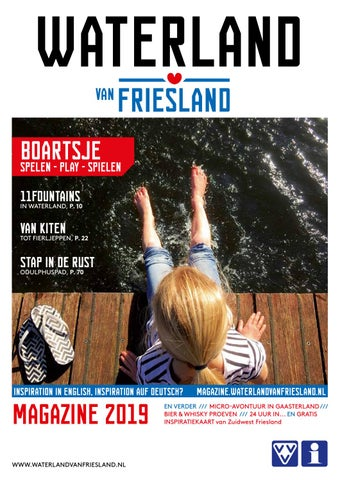 6f22829ce1f Waterland van Friesland Inspiratiemagazine 2019 by Ying Media - issuu