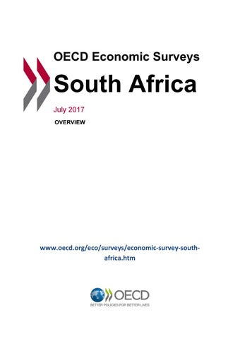 OECD Economic Survey: South Africa 2017 (overview) by OECD - issuu