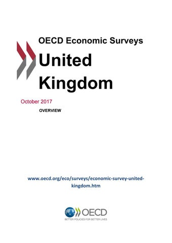 OECD Economic Survey: United Kingdom 2017 (overview) by OECD
