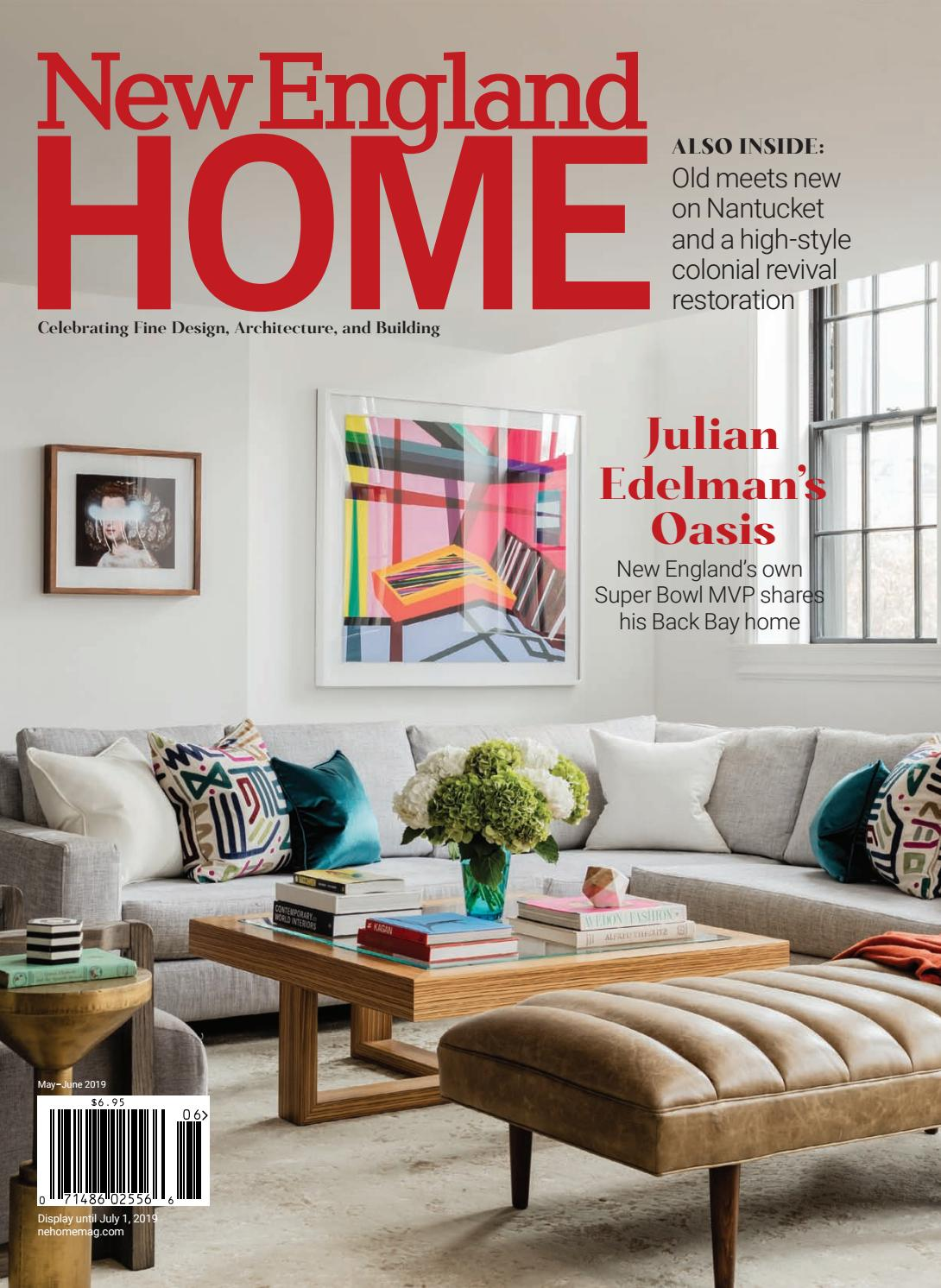 New England Home May-June 2019 by New England Home Magazine