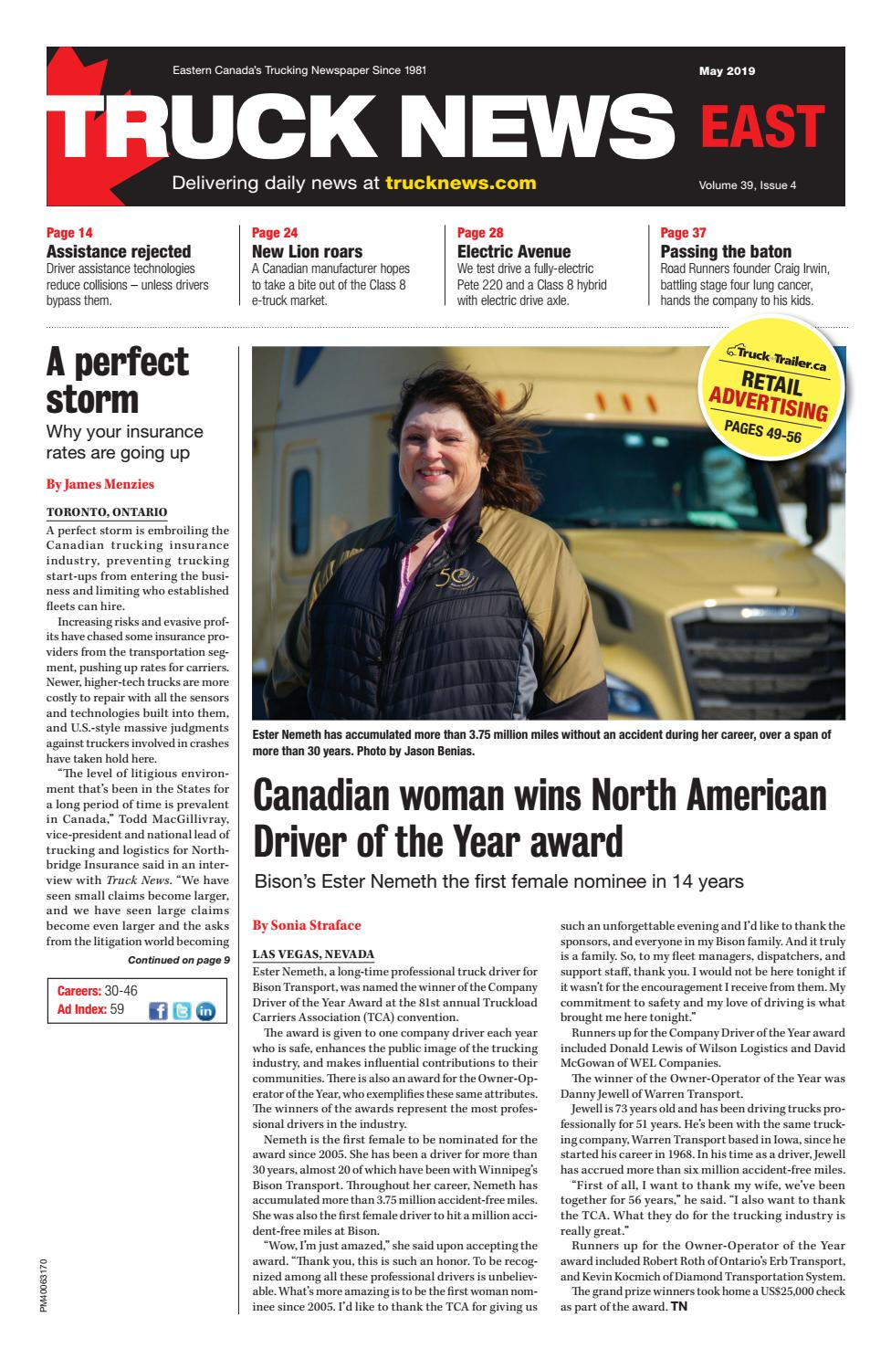 Truck News - East May 2019 by Annex Business Media - issuu