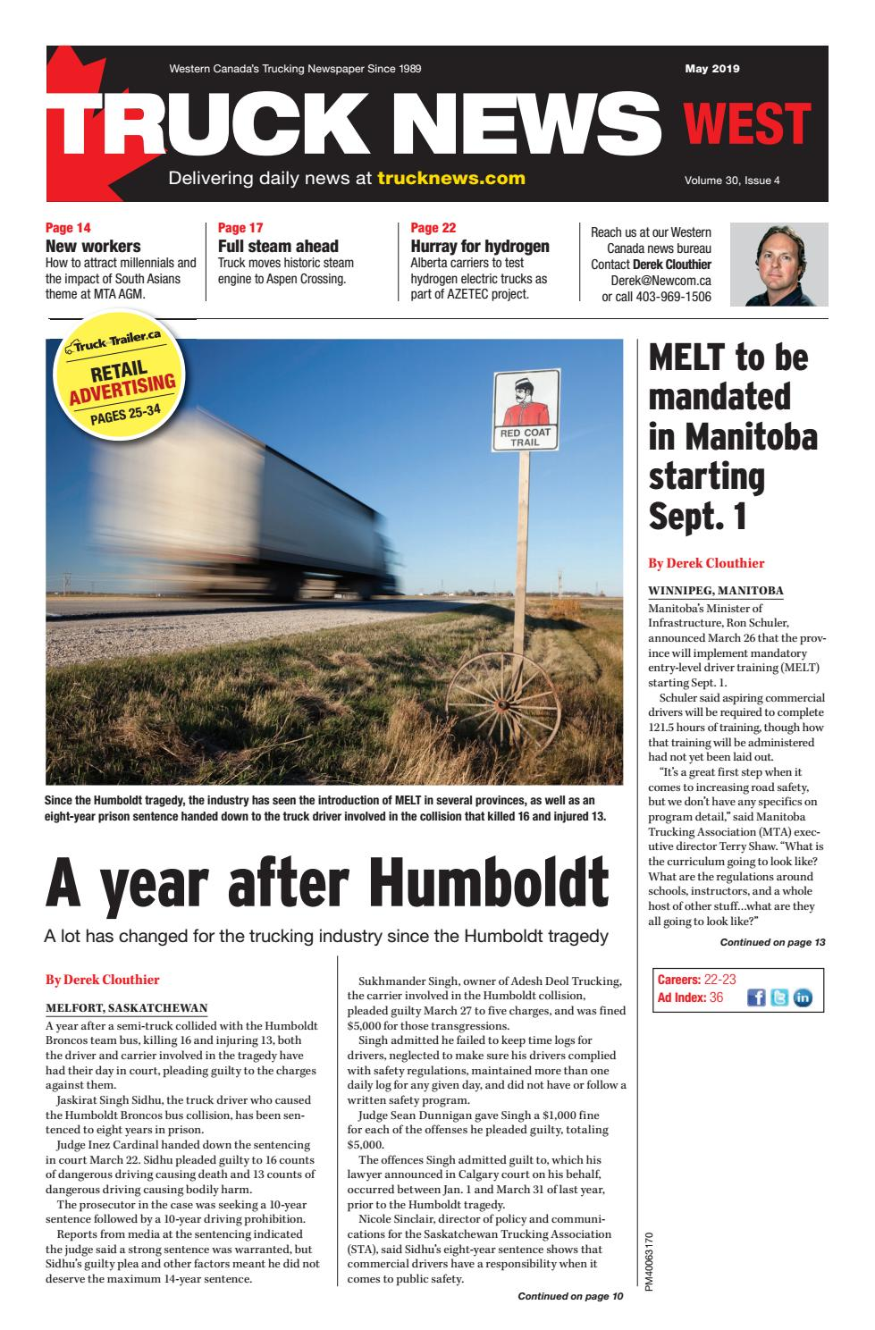 Truck News - West May 2019 by Annex Business Media - issuu