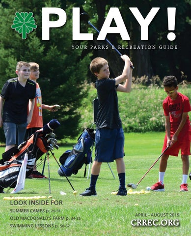 Play Guide - Summer 2019 by City of Cedar Rapids - issuu